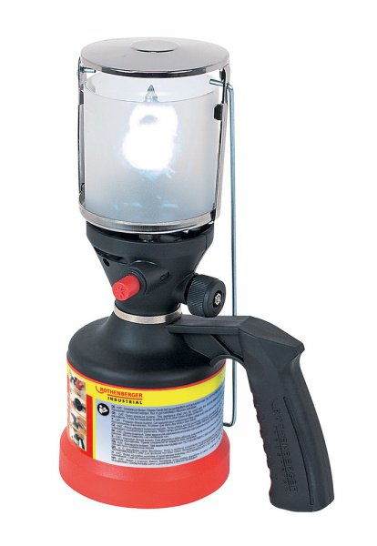 ROTHENBERGER Industrial Scout Campinglampe inkl. Piezo