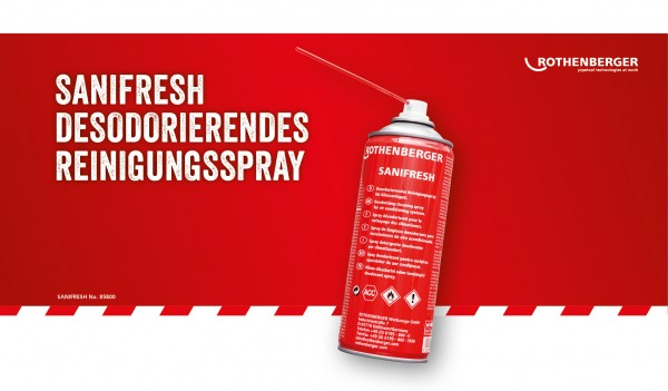 ROTHENBERGER Sanifresh Reinigungsspray 400ml